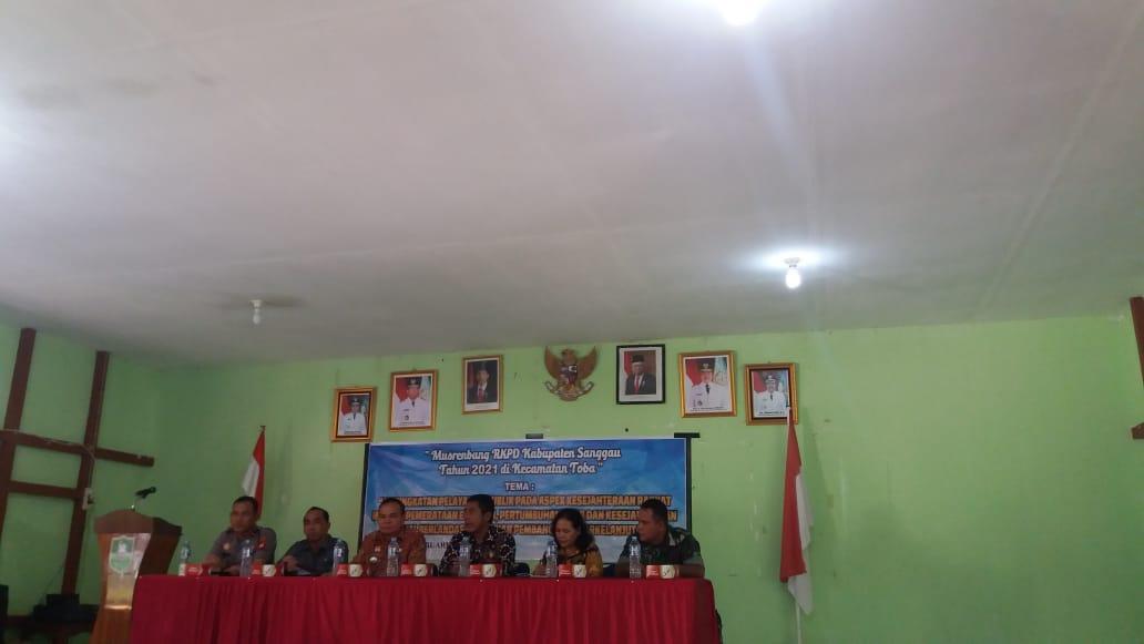 Pemenuhan Infrastruktur Dasar Menjadi Usulan Prioritas Musrenbang RKPD 2021 Kecamatan Toba