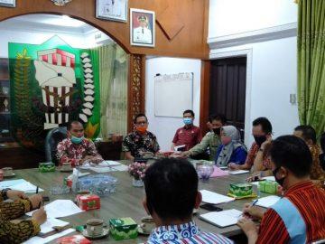 Rapat Pembahasan Kerja Sama Multipayment Pembayaran Pajak Daerah Yaitu PBB-P2 dan BPHTB dengan PT. Bank Pembangunan Daerah Cabang Sanggau