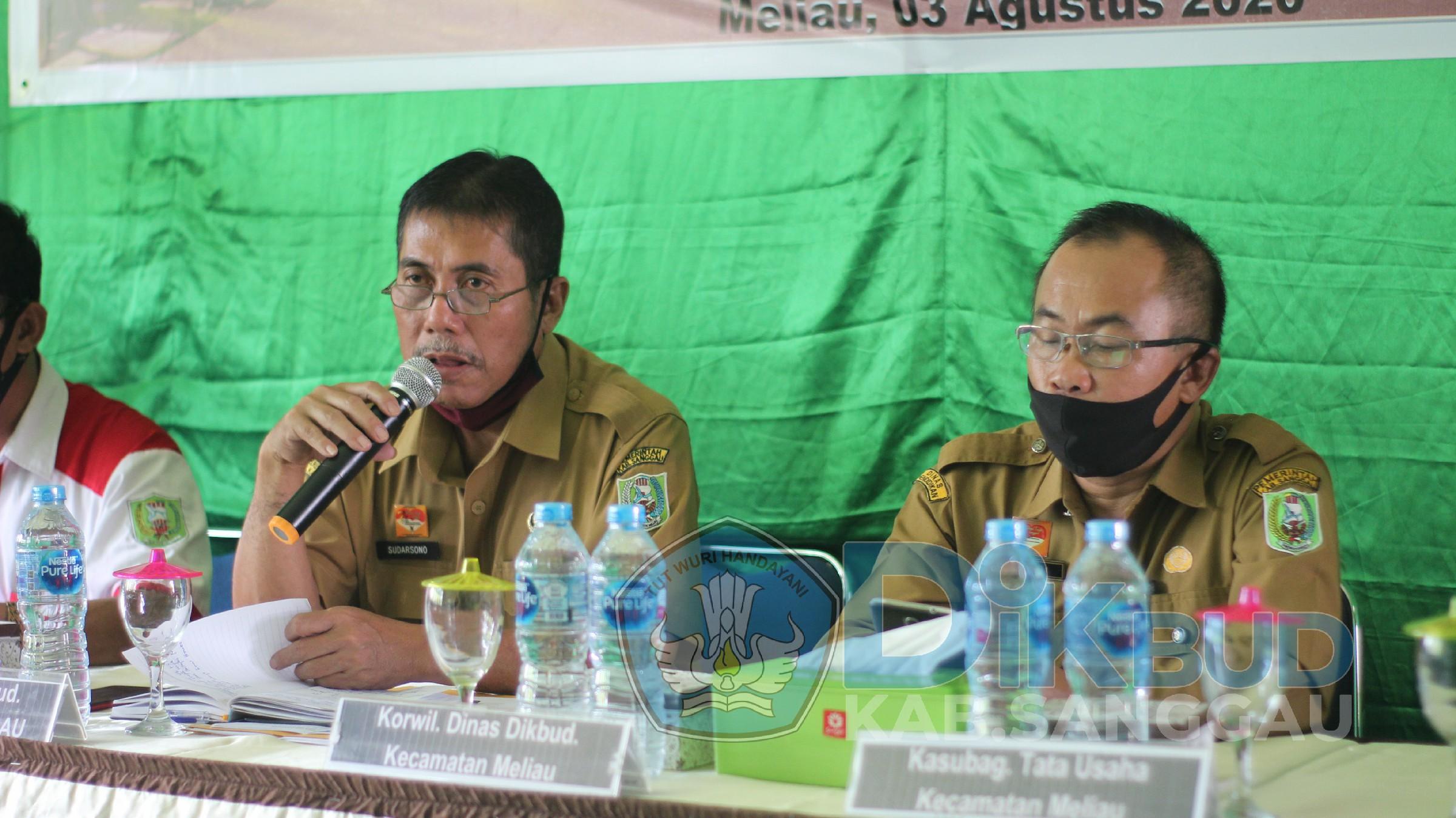 Sosialisasi SKB 4 Mentri Di Ruanglingkup Satuan Pendidkan Kabupaten Sanggau