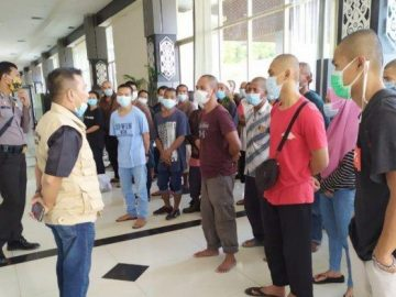 Penjelasan P4TKI Entikong 87 Pekerja Migran Indonesia Dideportasi Lewat Entikong Sanggau
