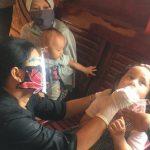 Ketua TP PKK Sanggau Berikan Vitamin A di Posyandu Balita Kelurahan Tanjung Sekayam Sanggau