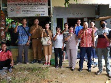 Diskominfo Sanggau Monitoring dan Evaluasi Pembinaan KIM Radio Komunitas Tampun Juah