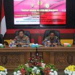 Bahas Karhutla dan Covid-19, Kapolda Tatap Muka Bersama Pejabat, Tokoh dan Temenggung Adat Sanggau