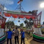 Kapolsek Sanggau Ledo Jadi Penilai Lomba Desa HUT RI ke-75