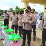 Beri Pengarahan, Kapolda Kalbar Kunjungi Polsek Batang Tarang Polres Sanggau