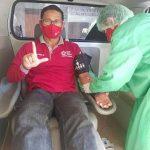 Momentum HUT RI ke-75, Kepala SMPN 13 Sanggau Donor Darah yang ke 75 Kali