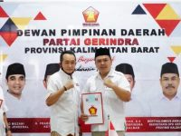 Terima Mandat Sebagai Ketua DPC, Robby Akan Bekerja Keras Bersama Seluruh Kader Gerindra Sanggau