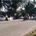 Warga Sambut Baik Sat Lantas Polres Sanggau Gencarkan Patroli di Daerah Rawan Laka lantas