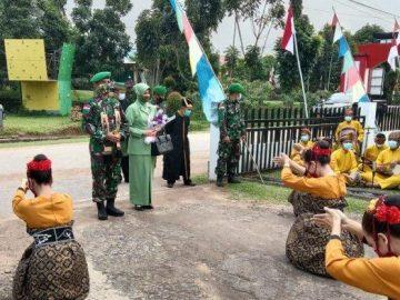 Letkol Inf Affiansyah Jabat Dandim Sanggau, Begini Suasana Penyambutannya
