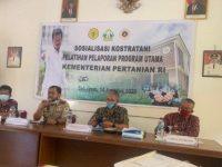 Karantina Pertanian Entikong Sanggau Dukung Digitalisasi Pembangunan Pertanian di Perbatasan