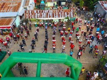 Danrem Brigjen TNI Ronny Pimpin Gowes Tour De Entikong