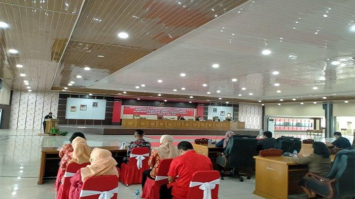 DPRD Sanggau Gelar Rapat Paripurna Bahas Empat Raperda Eksekutif