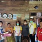 DPC ISKA Sanggau Donasikan Uang dan Tempat Tidur Kepada Warga Yang Alami Lumpuh di Kecamatan Noyan
