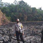 Kapolsek Kapuas Polres Sanggau Pimpin Pengecekan 7 Titik Hotspot