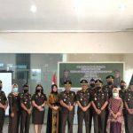 Kajari Sanggau Tengku Firdaus Pimpin Sertijab Kacabjari Entikong
