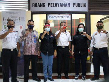 Kadis Kominfo Sanggau Terima Visitasi Tim KI Kalbar Melakukan Penilaian PPID Kabupaten Sanggau