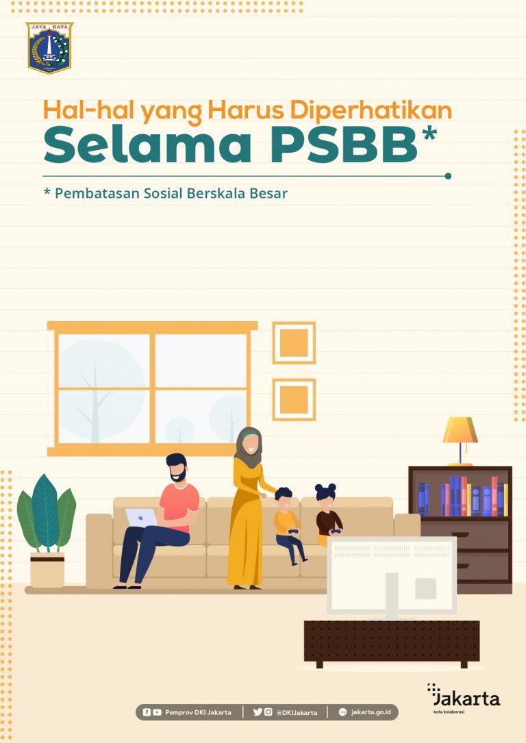 Hal-hal yang Harus Diperhatikan Selama PSBB