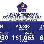 Kesembuhan Total Hari Ini Menjadi 161.065 Kasus - Berita Terkini