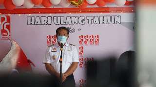 Di HUT Ke-75 PMI,Ini Pesan dan Harapan Bupati Sanggau