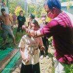 Dukung Pemberlakuan Perbup Nomor 47 Tahun 2020, PWKS Bagi Masker Gratis di Noyan