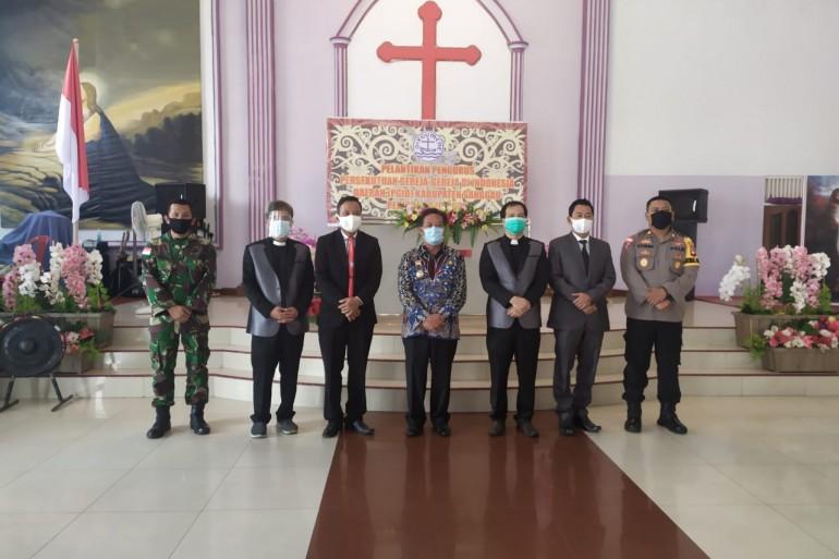 Buka Sidang MPL PGID, Bupati Sanggau: Jadikan Pancasila Sebagai Kekuatan Bersama