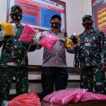 Tim Gabungan Gagalkan Penyuludupan Sabu Seberat 12 Kg di Sekayam, Kalbar