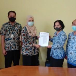 Survei Penilaian Tim SIPP KemenPAN & RB di DISDUKCAPIL Sanggau