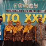 MTQ XXVIII Tingkat Kalbar, Cabang Fahmil Putri Kabupaten Sanggau Perdana Sumbangi Medali Emas