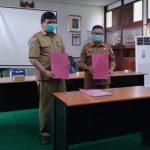 Dinsosp3akb Sanggau Lakukan MoU Bersama Rumah Sakit Jiwa Provinsi Kalimantan Barat, Singkawang