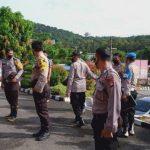 Pimpin Apel Pagi, Kapolsek Periksa Sikap Tampang Personel Polsek Tayan Hilir Polres Sanggau
