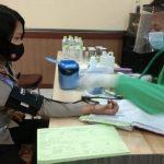 Satlantas Polres Sanggau Donor 100 Kantong Darah Peringati HUT ke-65 Polisi Lalu Lintas