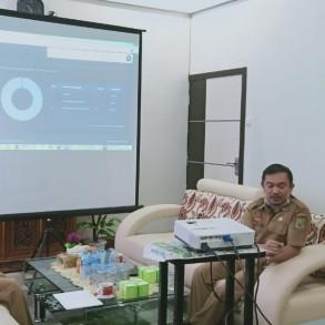 Bappeda Kab. Sanggau Menghadiri Sosialisasi dan Publikasi Aplikasi Sidompu di Dinas Sosial P3AKB Kab. Sanggau