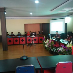 Bappeda Kab. Sanggau menyelenggarakan Pembahasan Realisasi Indikator Program dan Kegiatan Pilar Rencana Aksi Daerah Pangan dan Gizi Tahun 2020