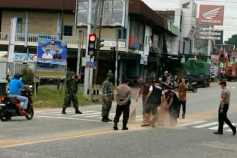 Ingat...! Sanksi Pelanggar Protokol Kesehatan di Kabupaten Sanggau Telah Berlaku
