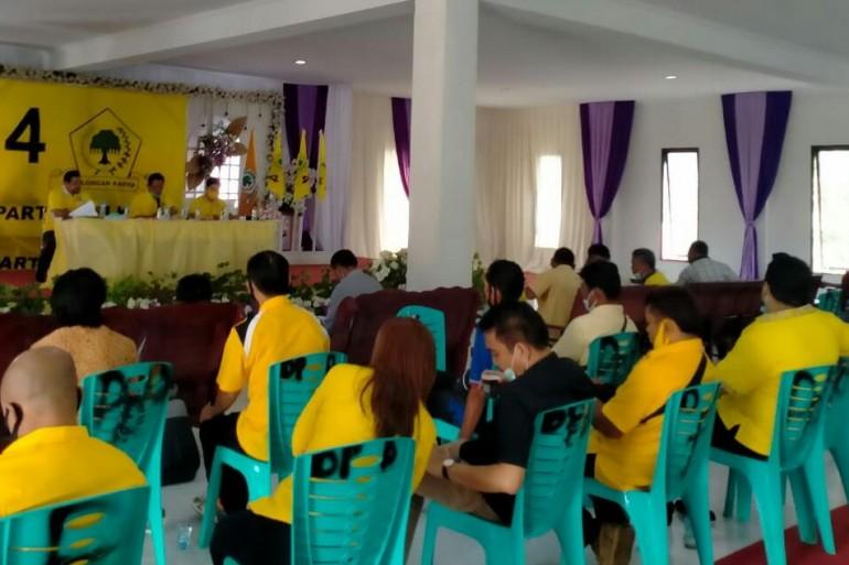 DPD Partai Golkar Sanggau Umumkan Kepengurusan Baru