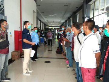 89 PMI Kembali Dideportasi Melalui PLBN Entikong
