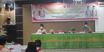 Buka Kegiatan Muscab IX Gerakan Pramuka, Bupati Sanggau Mendukung Penuh Kegiatan Gerakan Pramuka Di Sanggau