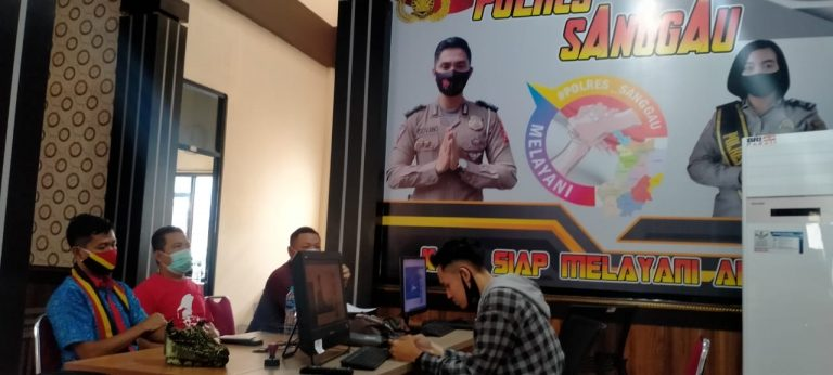 Pengurus DAD, PDKS dan TBBR Sanggau Laporkan Pelaku Mesum dan Pengunggah Video, Warga Dayak Diminta Jangan Terpancing