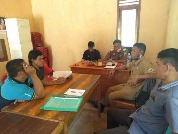 Koordinasi Tentang Pelaporan Bumdes SAMI Karya Mandiri Desa Sami Kecamatan Bonti