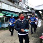 Pembagian Masker Gratis oleh Elemen Pemuda Sanggau