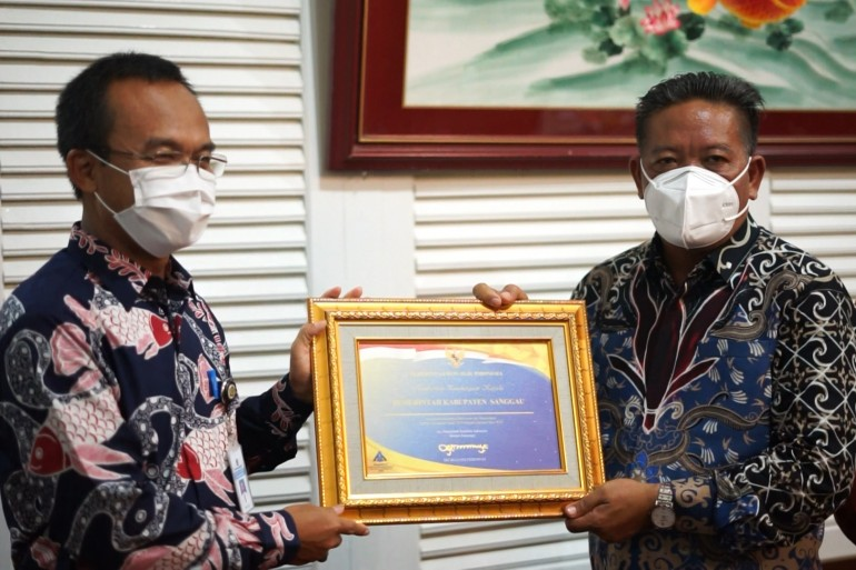 Terima Penghargaan Wajar Tanpa Pengecualian (WTP) ke Enam Kalinya, Bupati Sanggau: Masih Ada Catatan yang Harus Segera di Perbaiki