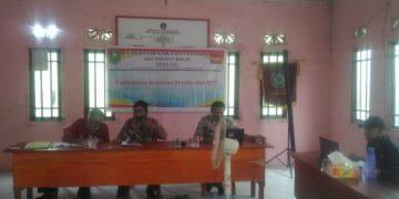 Peningkatan Kapasitas Aparatur Pemerintahan Desa dan BPD Desa Tae Kecamatan Balai