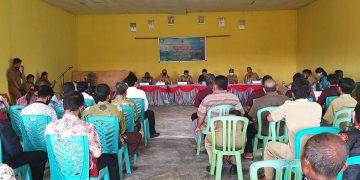 Perangkat Desa Persiapan Darok Kecamatan Bonti resmi di Ambil Sumpah/ Janji Jabatan