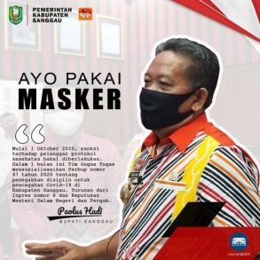 Tidak Menggunakan Masker Siap- Siap Kena Sanksi