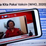 Prof. Dr. dr. Cissy Kartasasmita, Sp.A (K), M.Sc memberikan pemaparan mengenai keamanan vaksin dan menjawab mitos dengan fakta dalam dialog produktif di Jakarta, Senin, 16 November 2020.