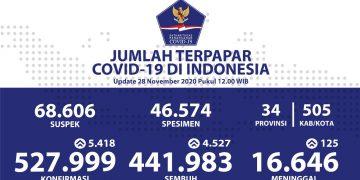 Pasien Sembuh Terus Bertambah, Kesembuhan Total Menjadi 441.983 Orang - Berita Terkini