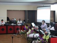 Bappeda Kabupaten Sanggau Menyelenggarakan Seminar Akhir Penyusunan Kajian Terhadap Angka Putus Sekolah di Kabupaten Sanggau