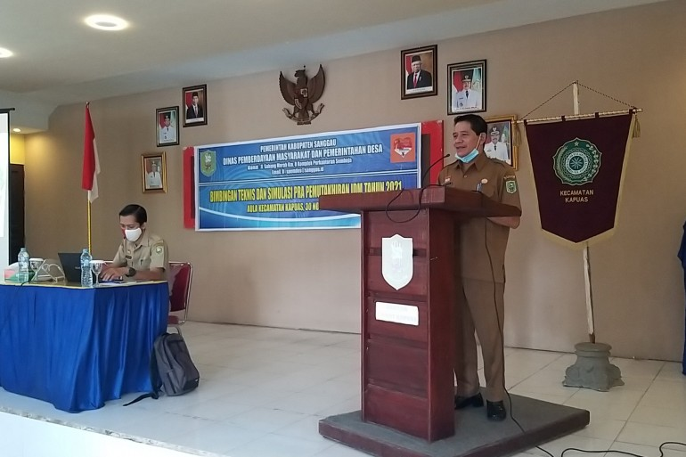 Bimbingan Teknis dan Simulasi Pra Pemuktahiran IDM Tahun 2021