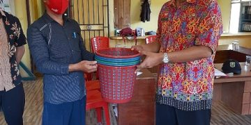 DLH Kab. Sanggau bersama BMSDA Kab.Sanggau lakukan pembinaan desa fokus di desa Riyai, Kec.Tayan Hulu – Dinas Lingkungan Hidup