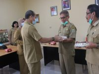 Pelepasan Purna Tugas Sekretaris Dinas dan Staf DKP